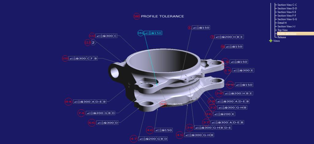 Lower plate tolerances