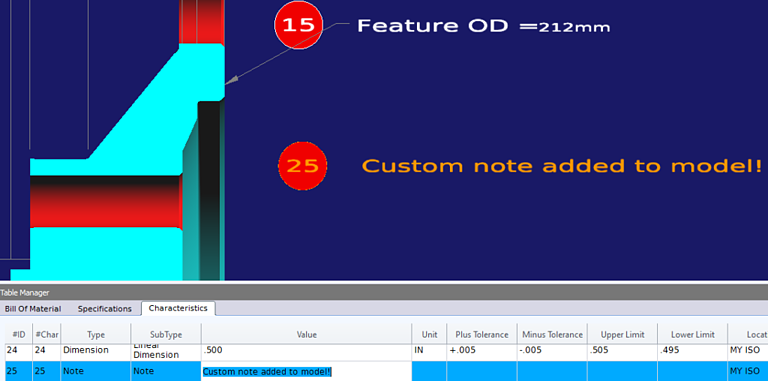 Add annotation text to CAD files 3