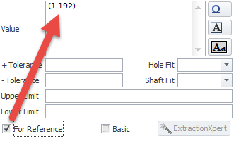 Basic & Reference dimension formatting 3_1