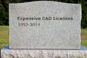 CAD licenses (Catia, ProENGINEER, etc...) no longer needed for inspection