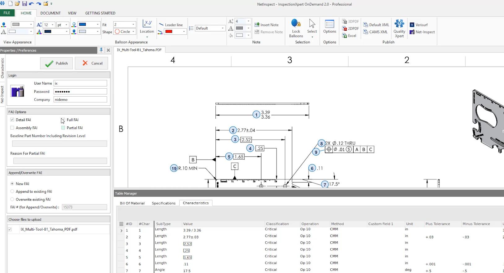 InspectionXpert login to Net-Inspect