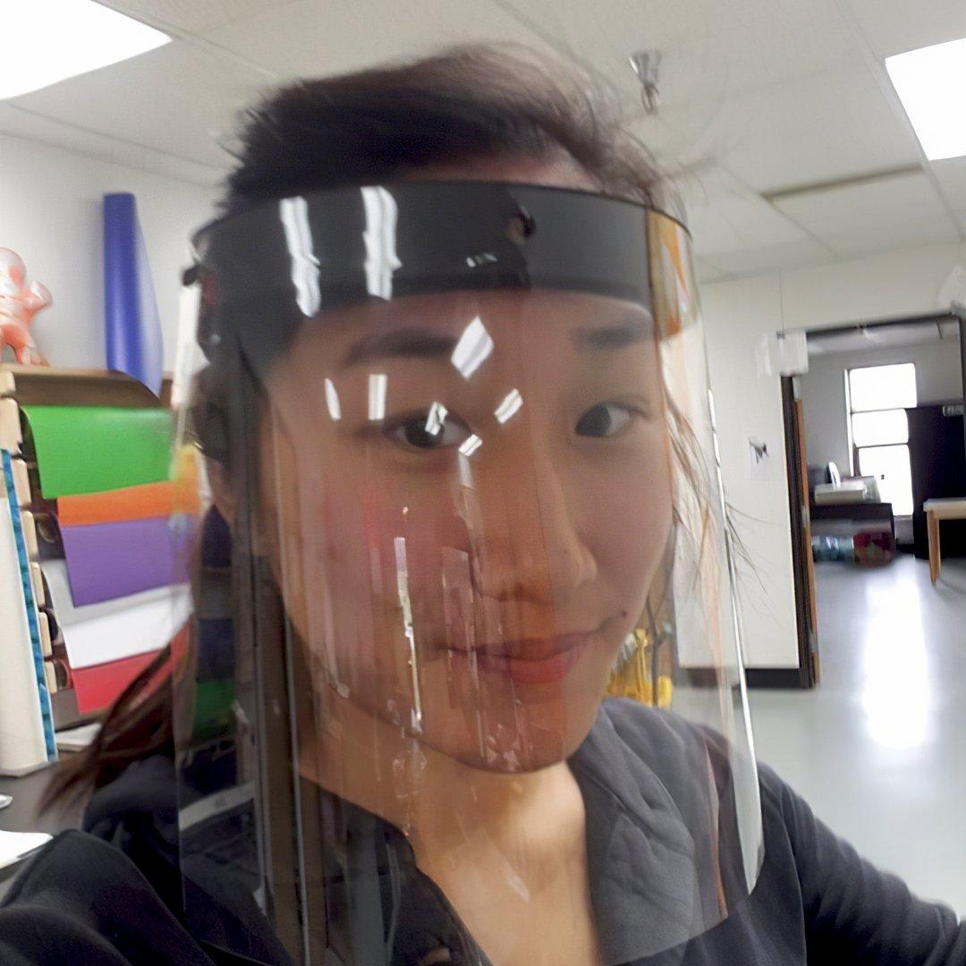 Pratt Miller printing and donating headbands for PPE